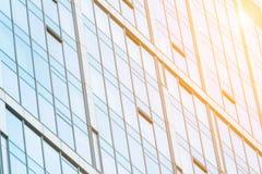 Glaçage moderne de façade Photo stock