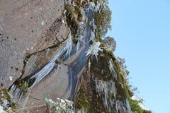 Glaçon Cliff And Clear Sky image libre de droits