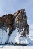 Glaçons de Baikal Image stock