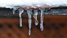 Glaçons de glace Image stock