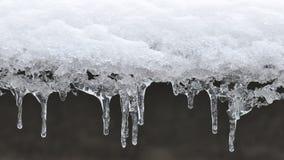 Glaçons de glace Images libres de droits