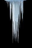 Glaçons de glace Photographie stock