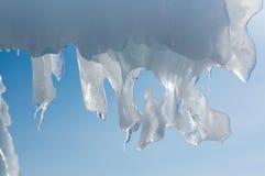 Glaçons sur le lac Baïkal photo stock