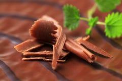 Glaçure de chocolat photographie stock libre de droits