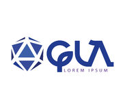 GLA Logo Design Stock Images