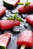 Glace à l'eau de pastèque Photos libres de droits