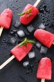 Glace à l'eau de pastèque Images stock