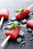 Glace à l'eau de pastèque Image libre de droits