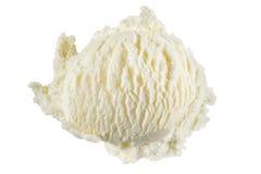 Glace à la vanille photo stock