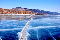glace Photographie stock libre de droits