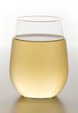 Glace acaule de vin blanc effrayant Photos libres de droits