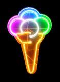 Glace au néon Image stock