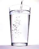 Glace avec de l'eau Images libres de droits