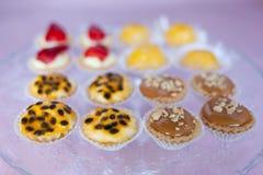 Glace avec des sucreries Photos libres de droits
