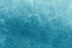 Glace avec la texture de fond de fissures Photo libre de droits