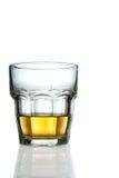 Glace avec une certaine boisson Photo libre de droits