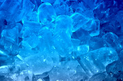 Glace bleue Photo libre de droits