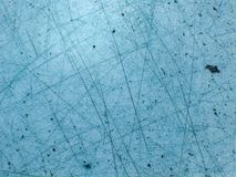 Glace bleue avec le brouillon   Images stock