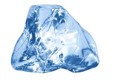 glace bleue de cube Image stock