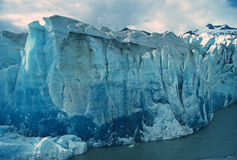 Glace bleue en Alaska photo libre de droits
