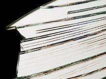 Glace cassée Photographie stock libre de droits