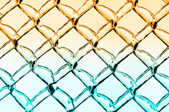 Glace chaude et fraîche Diamond Pattern Background Photo stock