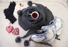 Glace-ckate romantique Images stock
