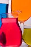 Glace colorée Image stock