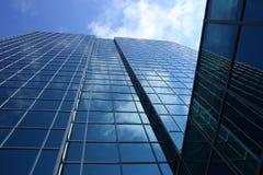 glace d'édifice Image libre de droits