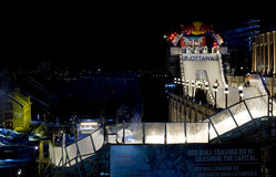 Glace d'accident de Red Bull à Ottawa 2017 Photos stock