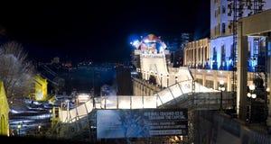 Glace d'accident de Red Bull à Ottawa 2017 Photos libres de droits