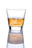 Glace d'alcool photographie stock