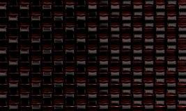 Glace d'art colorée Image stock