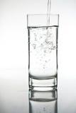 Glace d'eau Image stock
