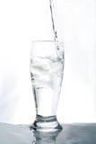 Glace d'eau Photographie stock libre de droits