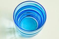 Glace d'eau bleue Photos stock
