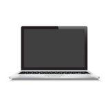 Glace d'ordinateur portable Photographie stock libre de droits