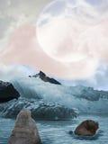 Glace dans l'arctique Image libre de droits