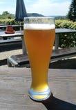 Glace de bière Photo libre de droits