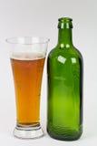 Glace de bière Images libres de droits