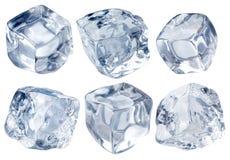 glace de blocs Photo stock