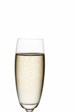 Glace de champagne. Image libre de droits