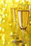 Glace de Champagne Image stock