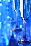 Glace de Champagne Photo stock
