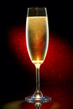 Glace de champagne Photos stock