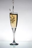 Glace de champange Photos libres de droits