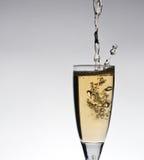 Glace de champange Images libres de droits