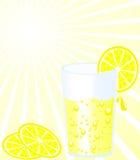 Glace de citronnade Images stock