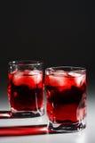 glace de cocktail images libres de droits