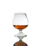 Glace de cognac Images libres de droits